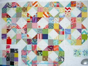 Patchwork Wheel Blocks