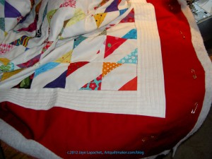 Border & Center Quilted