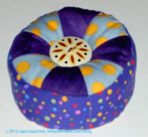 Purple Pincushion Gift