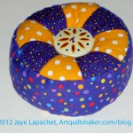 Julie's Purple Pincushion Gift