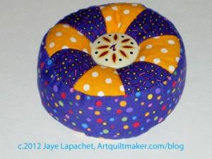 Purple Pincushion Gift
