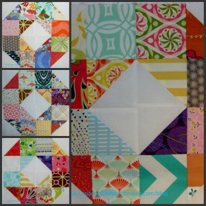 Patchwork Wheel collage
