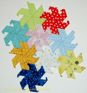 English Paper Piecing Stars