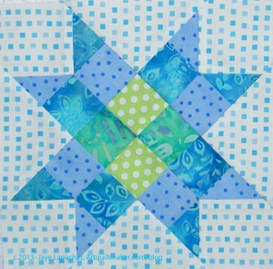 Checkerboard Star