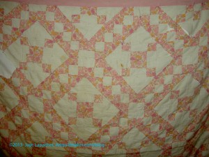 Grandma Betty's Quilt- detail 2