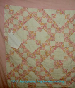 Grandma Betty's Quilt- detail