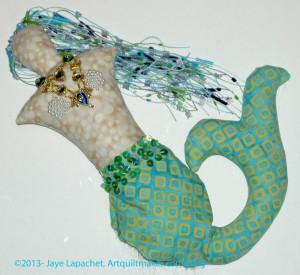 Mermaid in process, 2013