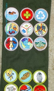 Camping Merit Badges