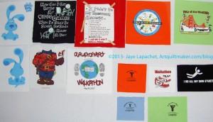 T-shirt panels
