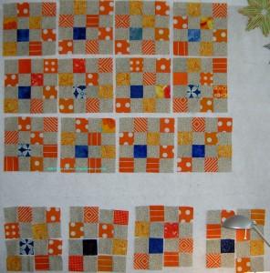 Orange & Grey Donation Blocks