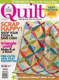 Quilt, Aug/Sept 2013