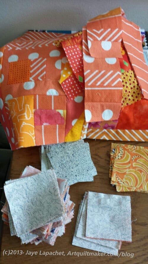 Orange Donation Quilt