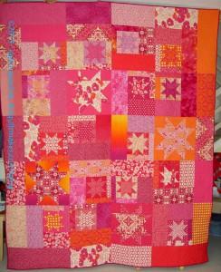 Finished: Sparkle Pink