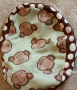 Dot Monkey Cat Bed