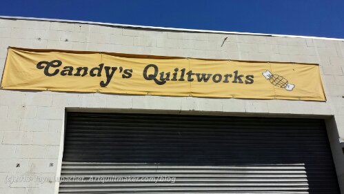 Candy's Quiltworks  backdoor