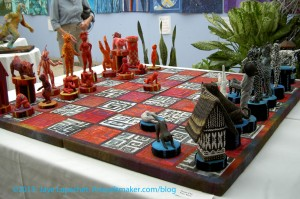 Susan Else's Chess Set