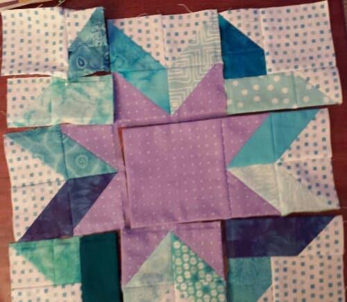 Ribbon Star unsewed