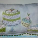 Tea towel pillow