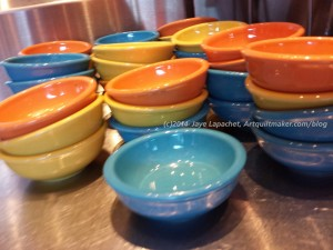 Blue & Orange Bowls, Houston