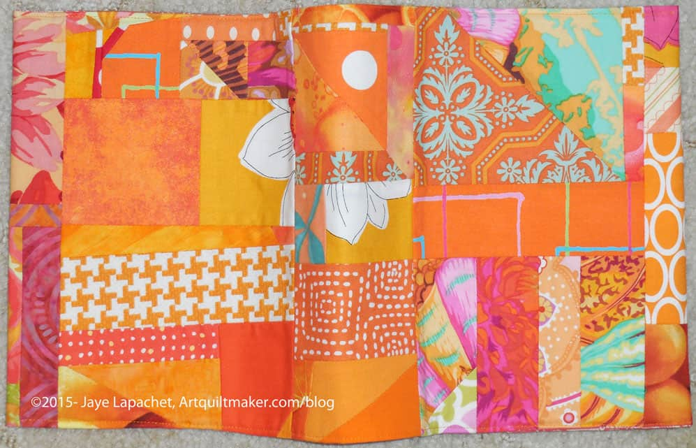 Orange Crush Journal Cover All Outside