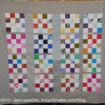 Multi-color Donation Quilt- April