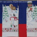 2 Snowman Pillowcases