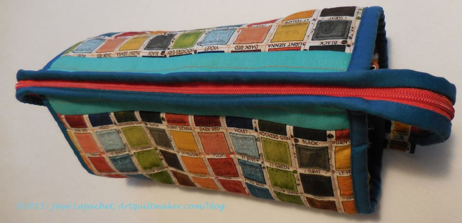 Mom's Watercolor Box Sew Together Bag