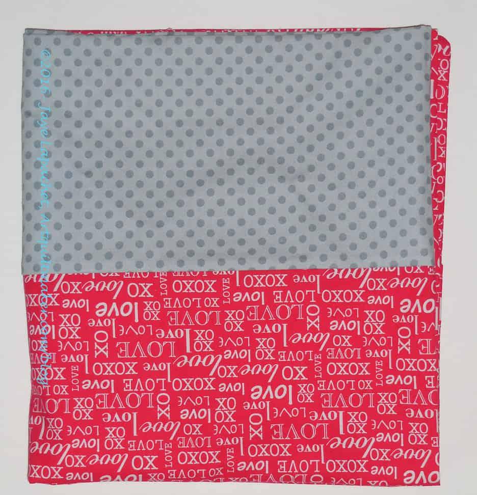Valentine's College Pillowcase