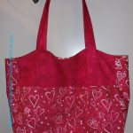 Heart Bag: Finished