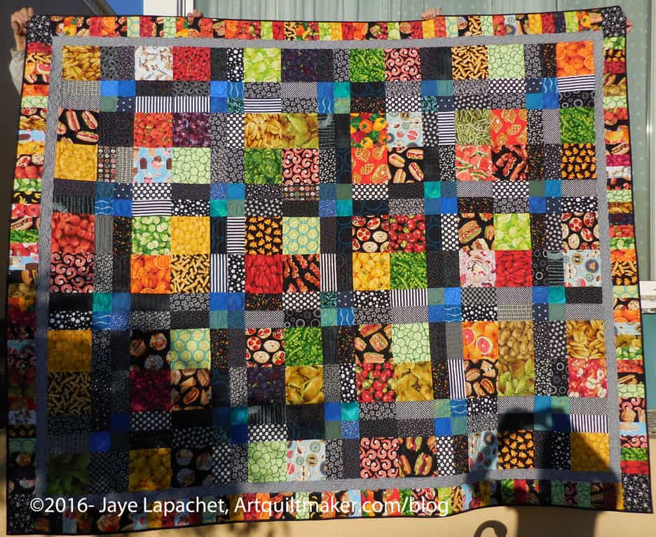 Food Quilt #3: Finished