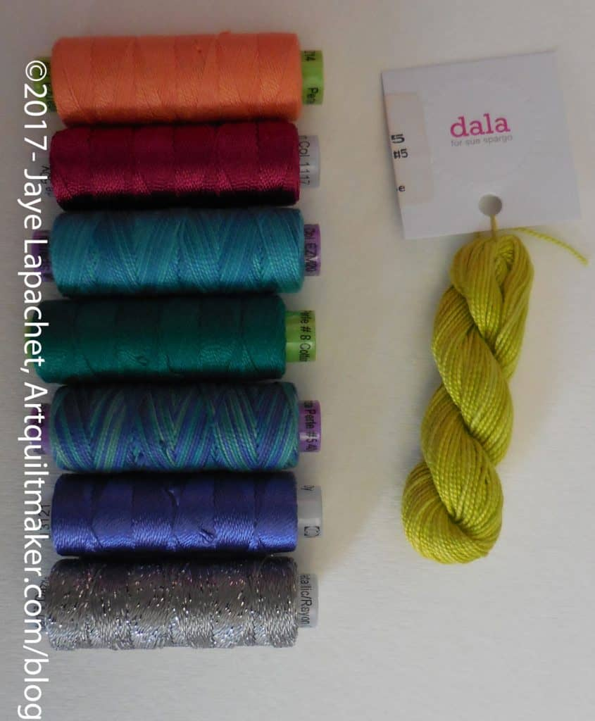 Sue Spargo Threads from Thistle Dew
