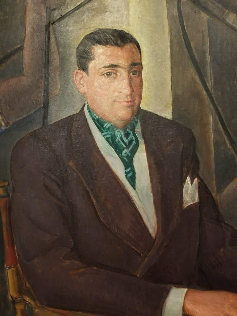 Portrait of Jacques Gelman
