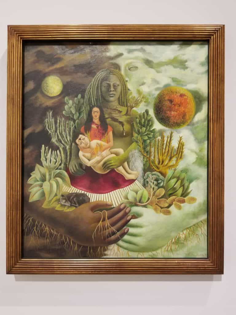 The love embrace of the universe, the Earth, Diego, me and Senor Xolotl, 1949