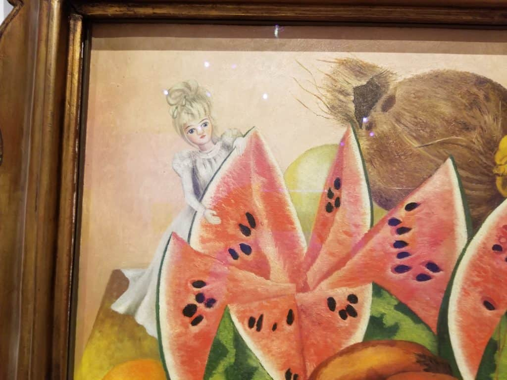 Kahlo: The Bride Who Becomes Frightened.... detail