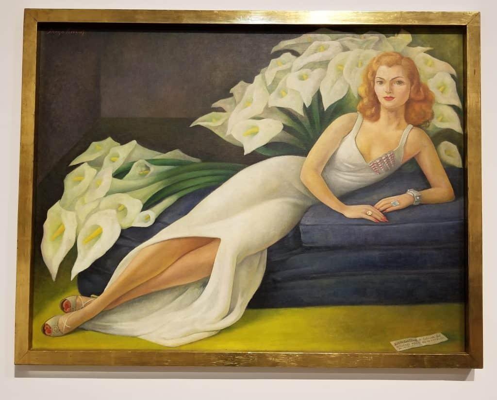 Diego Rivera Portrait of Natasha Zakolkowa Gelman