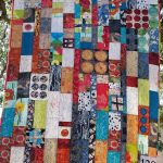 Circles and Bars Donation Quilt
