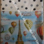 Paris Hot Air Pillowcase