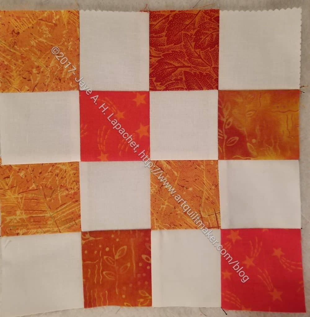 Mixed Orange donation block