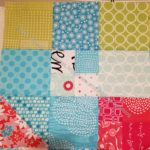 Stepping Stones: inner border block