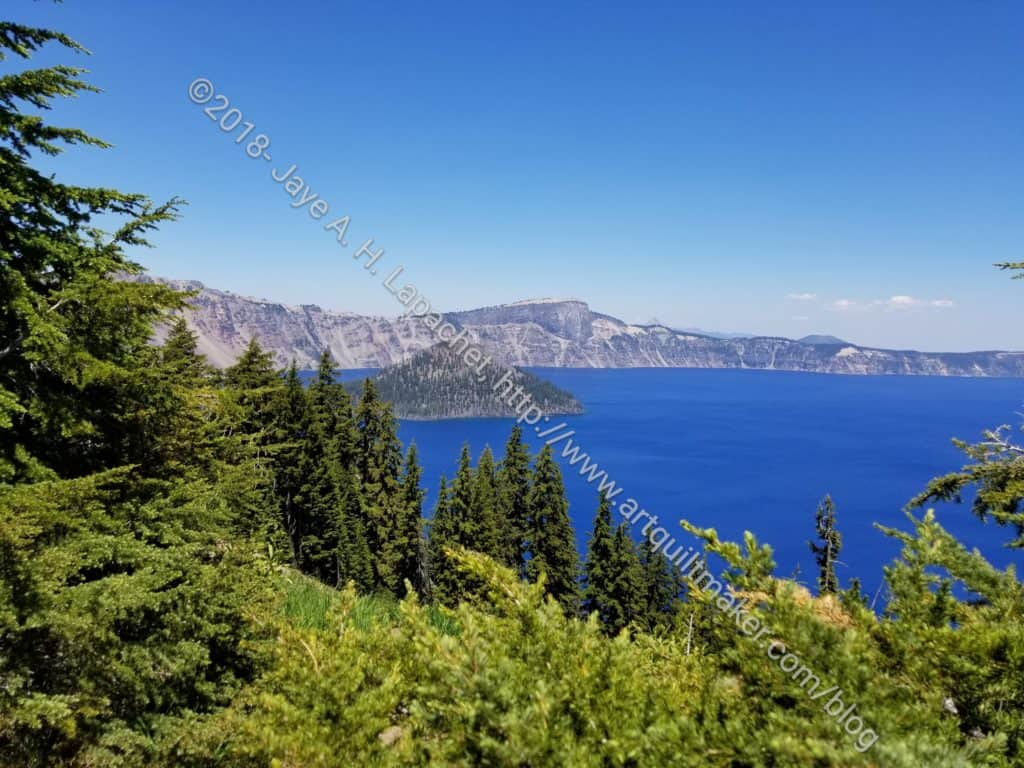 Crater Lake left