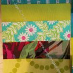 Rectangle Strip Scrap block 10
