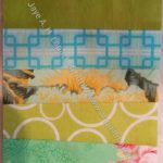 Rectangle Strip Scrap block 9