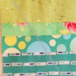 Rectangle Strip Scrap block 8