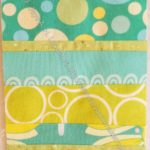 Rectangle Strip Scrap block 7