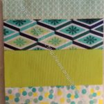 Rectangle Strip Scrap block 5