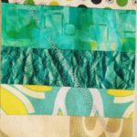 Rectangle Strip Scrap block 1