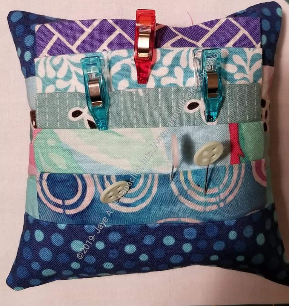 Maureen's pincushion-back