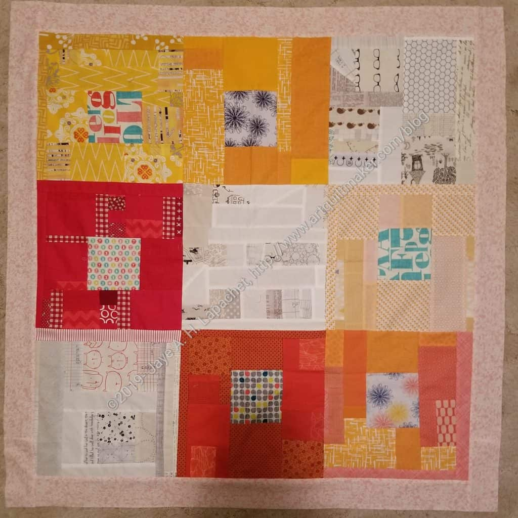 Fun & Cheerful Donation Top with border