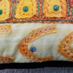 Under the Sea Pillow Finished- detail