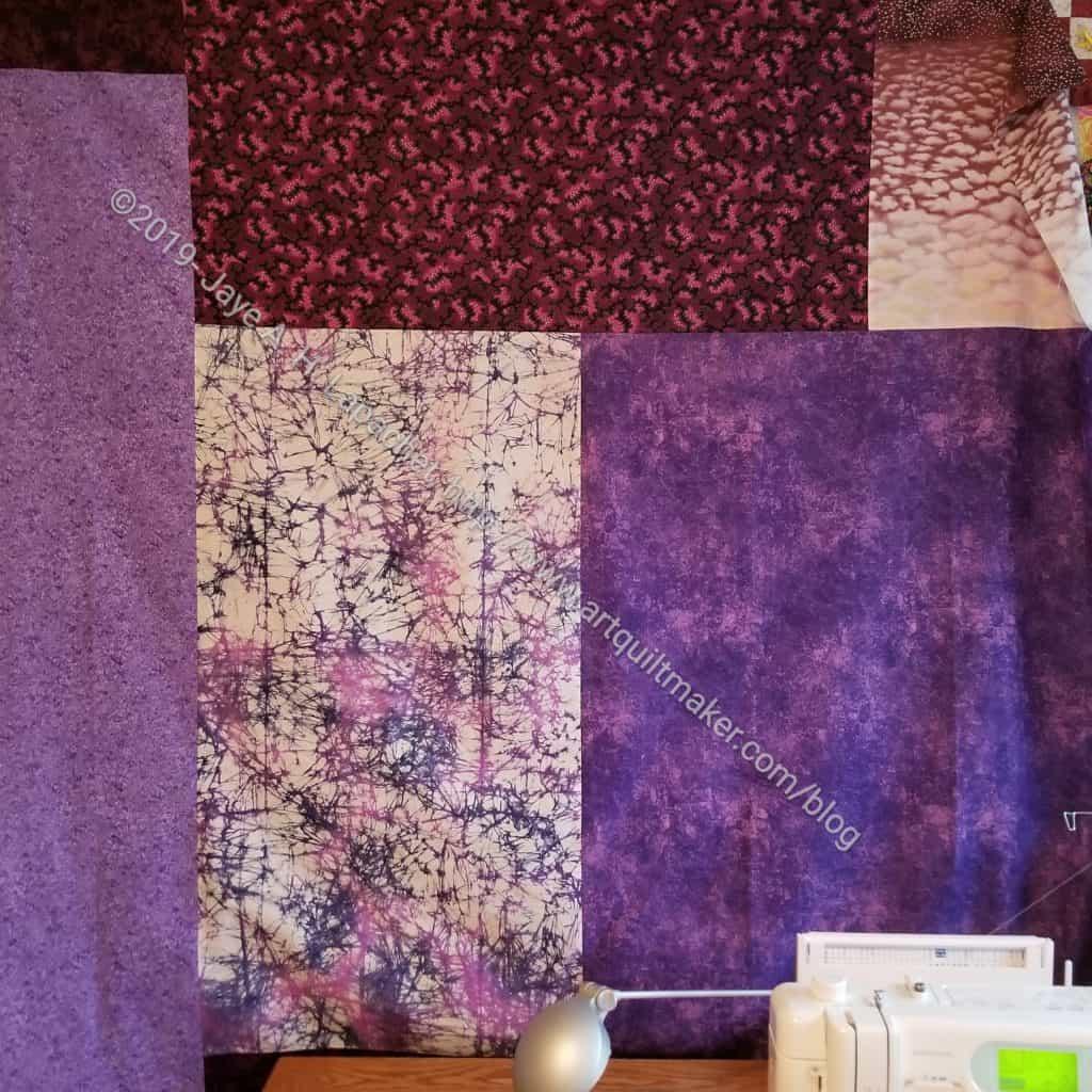 Purple Improv Donation Back